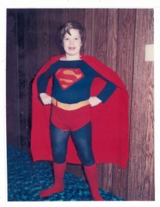 Chris as Superman