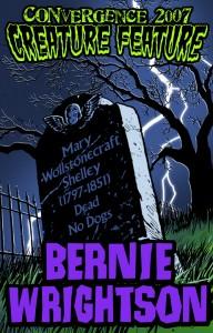 Bernie Wrightson badge