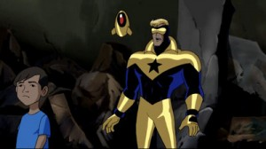 Booster on Justice League Unlimited