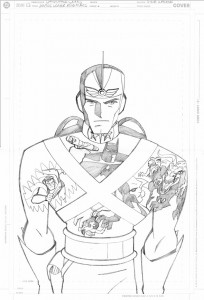 JL Adv #26 cover pencils