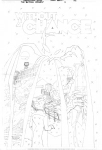 Strikes #04 - Title Page pencils