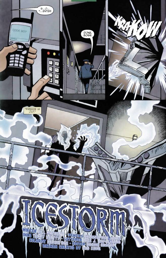 Batman Strikes #7 - Title Page