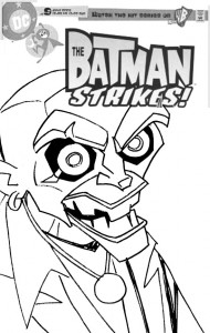 Batman Strikes #28 Cover - sketch b