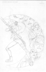 YJ Cover #7 pencils