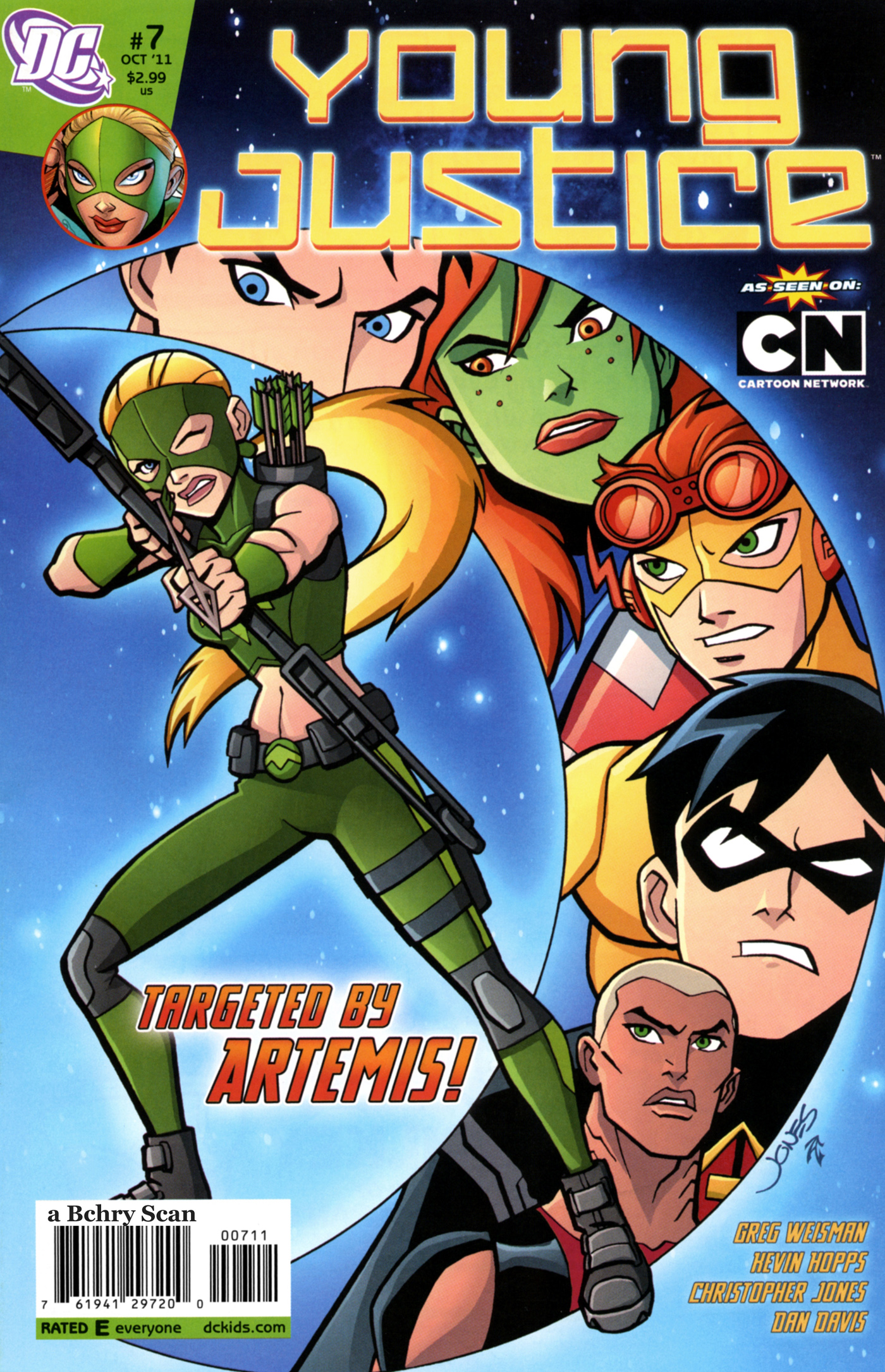 creating a cover young justice 7 christopher jones comic art