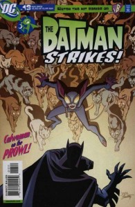 Batman Strikes #13 - cover w logos