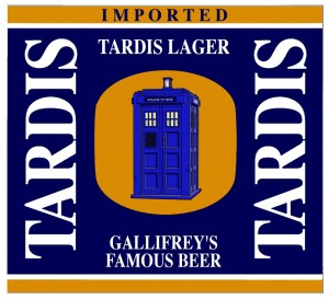 Tardis Lager label