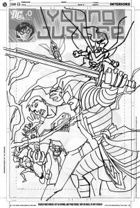 YJ #10 cover sketch b