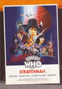 Doctor Who Scratchman poster