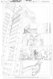 Strikes #13 - Title Page pencils