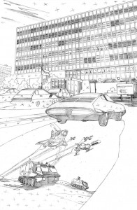 UFO #0 pg 01 pencils