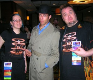 Hal & Chris meet Inspector Spacetime