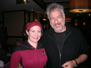 Hal with John DeLancie