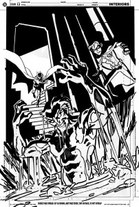 Young Justice #11 - Cover Rough