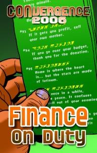 #CVG2006 - Finance on Duty Badge