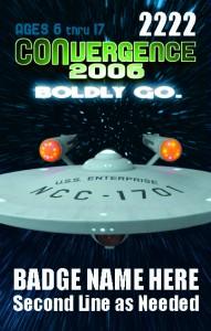 #CVG2006 - Teen Badge