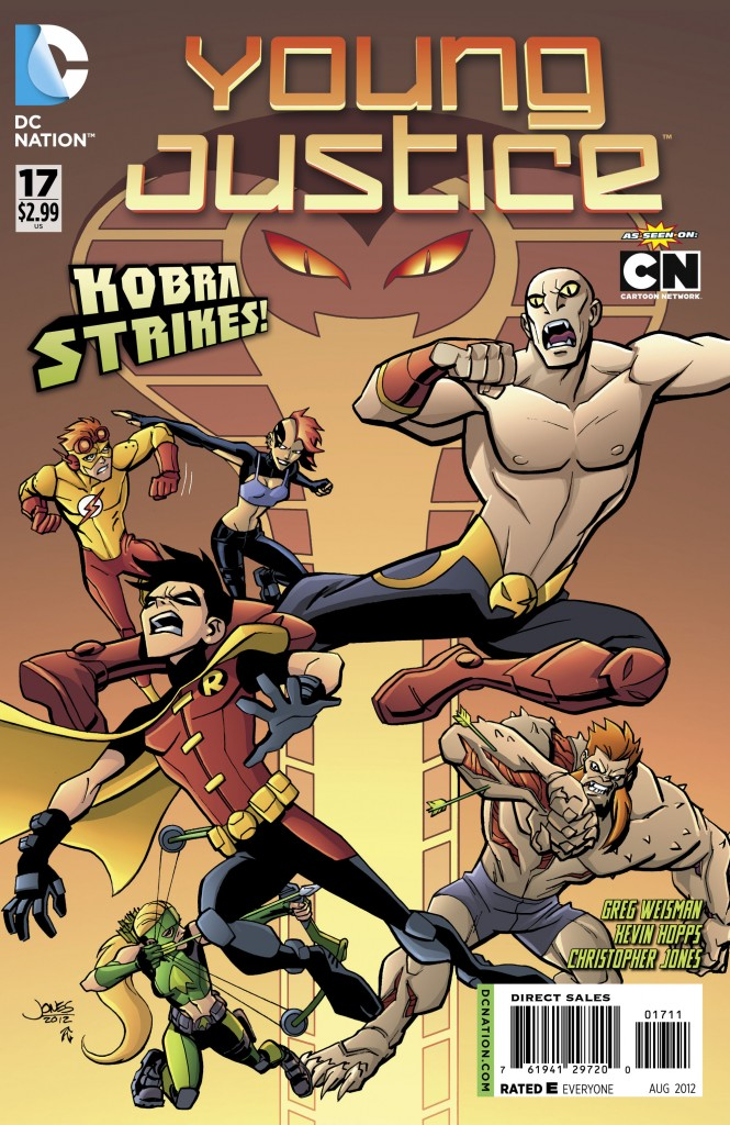 Young Justice #17 Cover