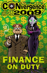 #CVG2009 - Finance Badge