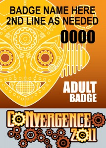#CVG2011 - Adult Badge