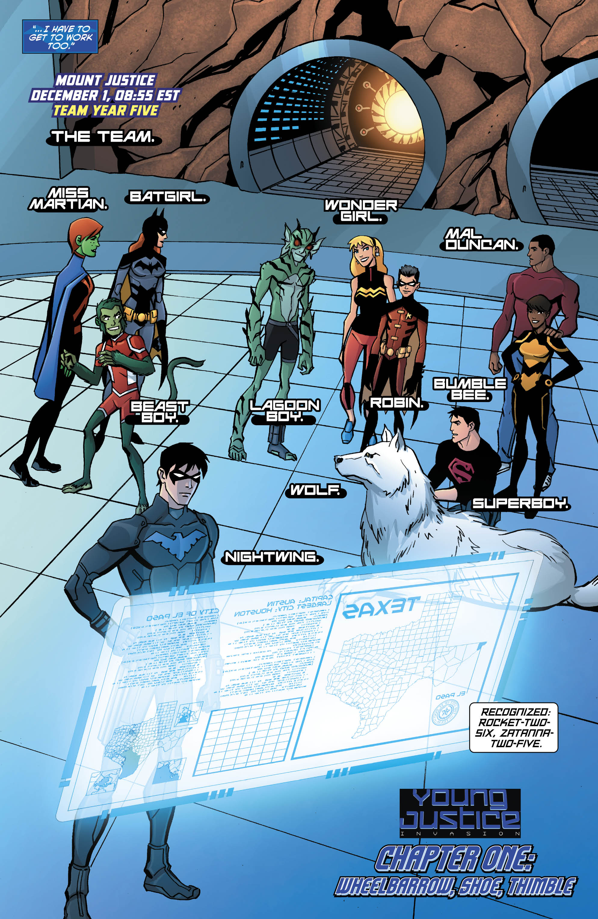 out now young justice 20 � the invasion begins