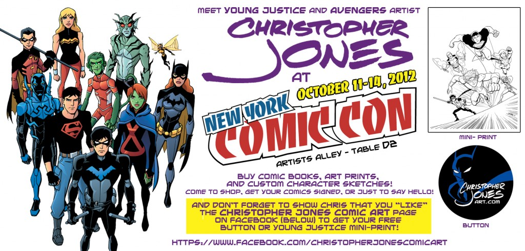 NYCC 2012 Infographic