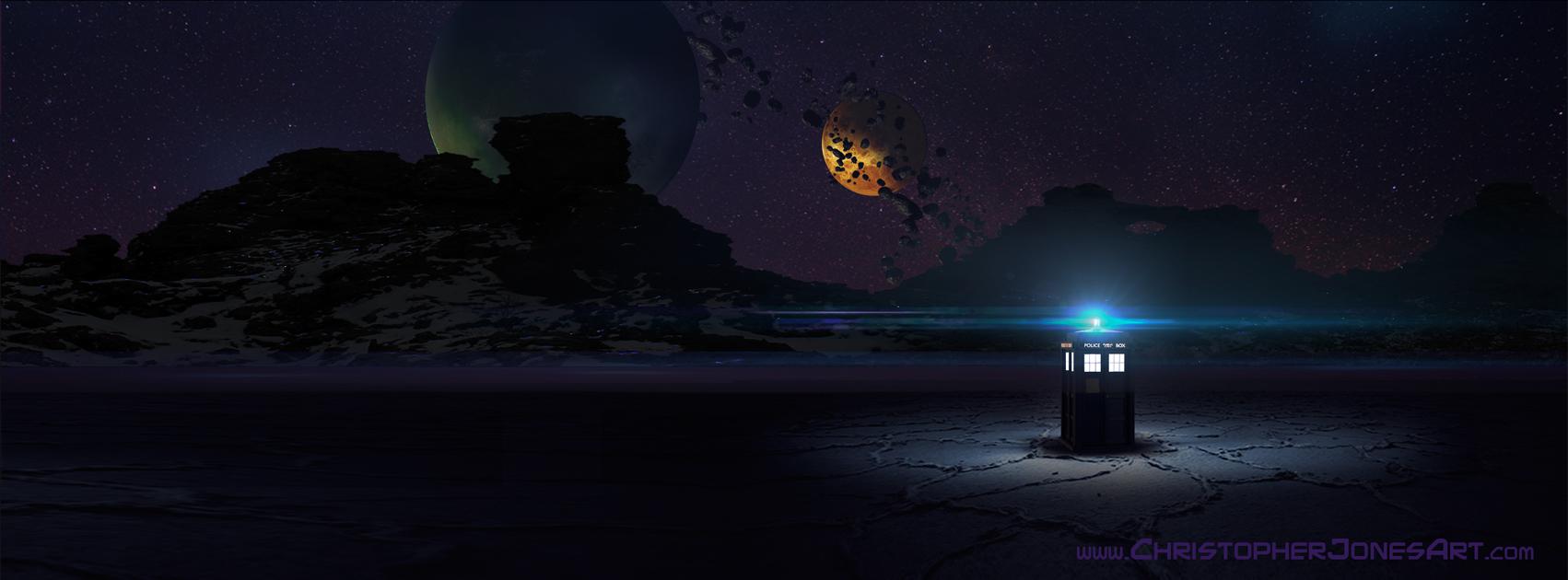 Good Wallpaper Halloween Facebook - TARDIS-on-Alien-World-facebook-timeline  Collection_738334.jpg