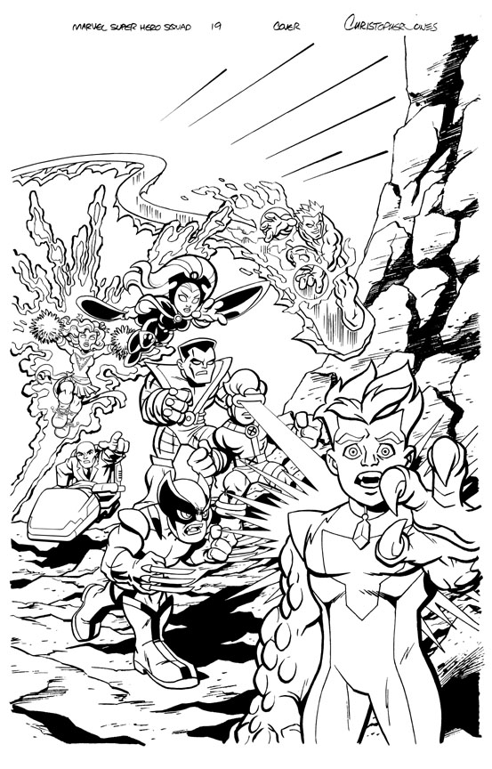 MSH Cover #19 inks