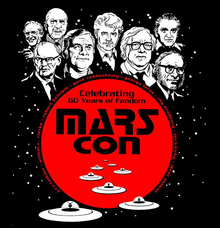 Marscon T-Shirt art I did in 2001