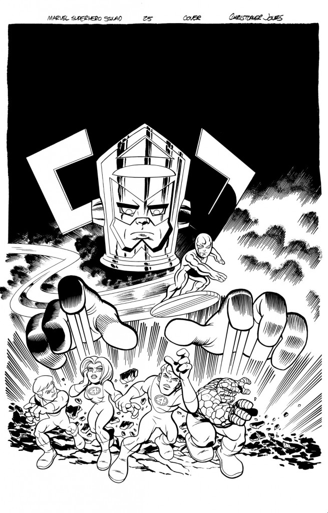 Squad Cover #25 inks