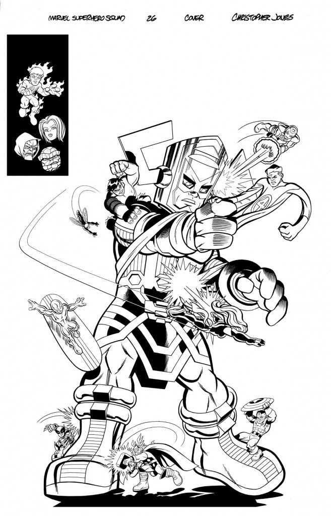 Squad Cover #26 inks