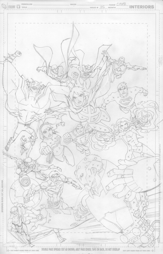 YJ #25 cover pencils prev