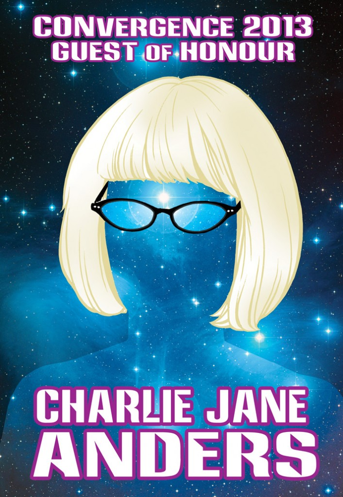 CVG 2013 GoH Badge - Charlie Jane Anders prev