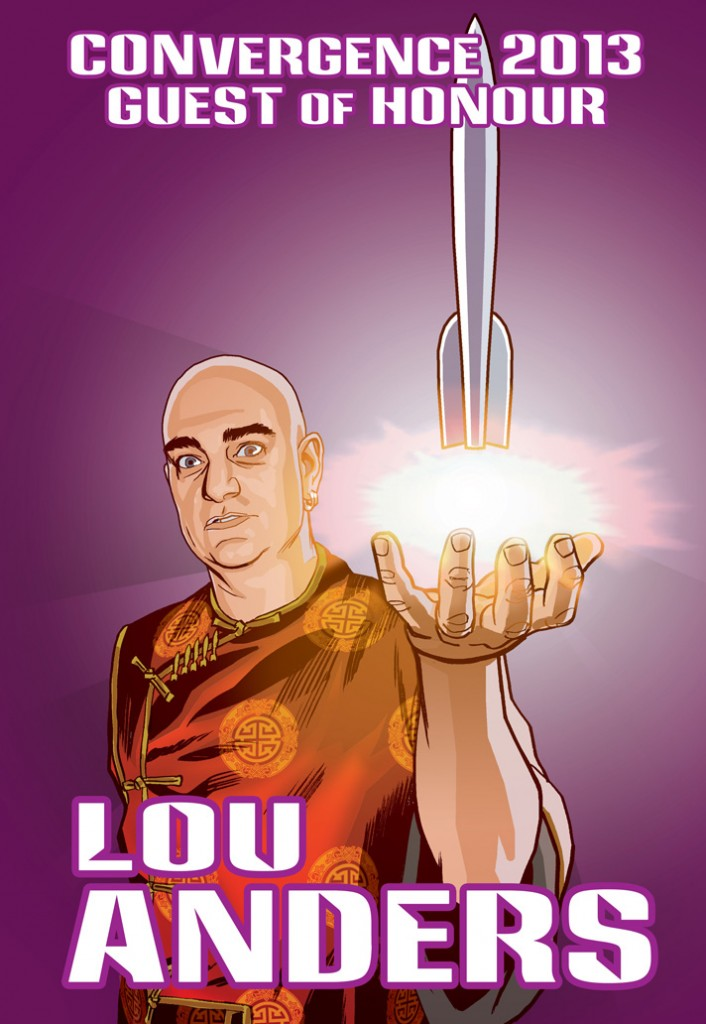 CVG 2013 GoH Badge - Lou Anders prev