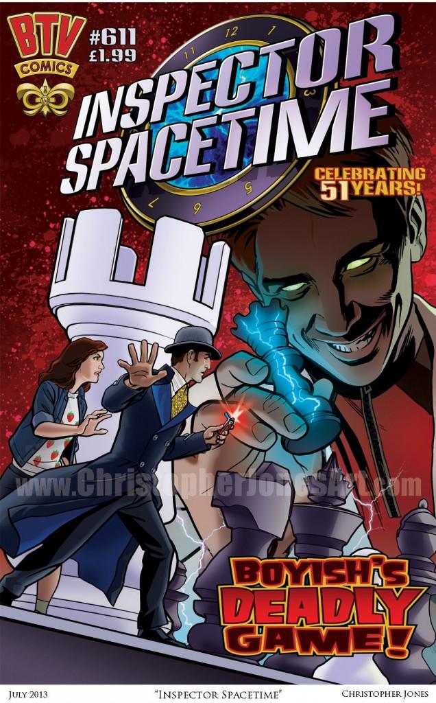 Inspector Spacetime - Framed prev watermark