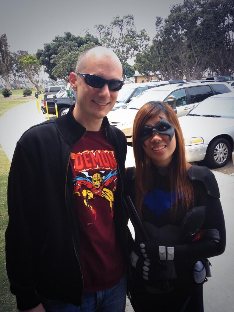 YJ SDCC 13 Brandon Nightwing