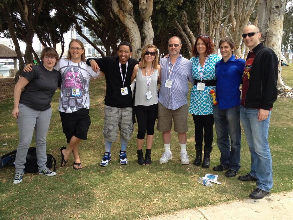 SDCC 2013 Young Justice Meet-up Photos | Christopher Jones ...