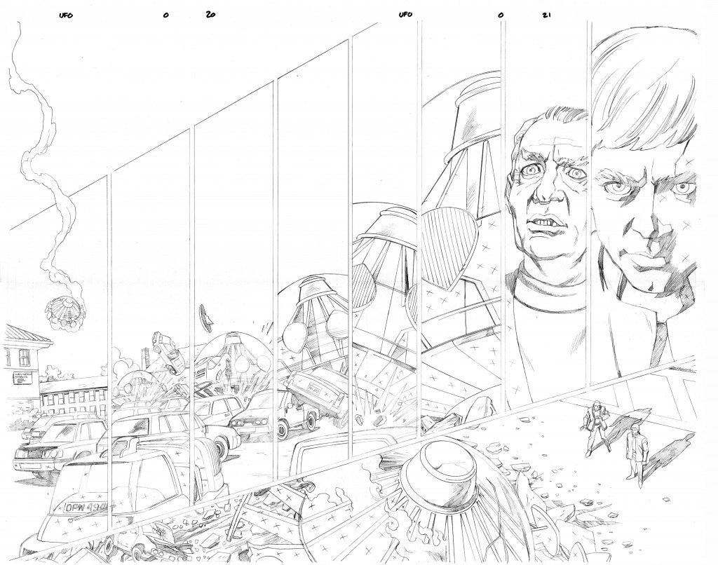 UFO #0 Pg 20-21 dps - pencils