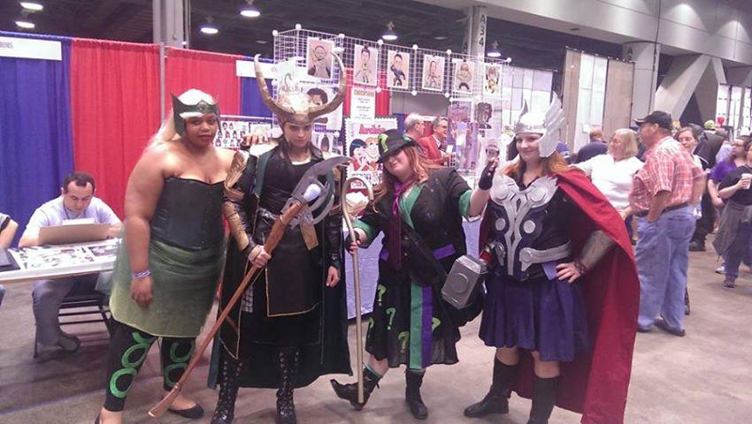 CCE13 SAT - Enchantress Loki Riddler Thor