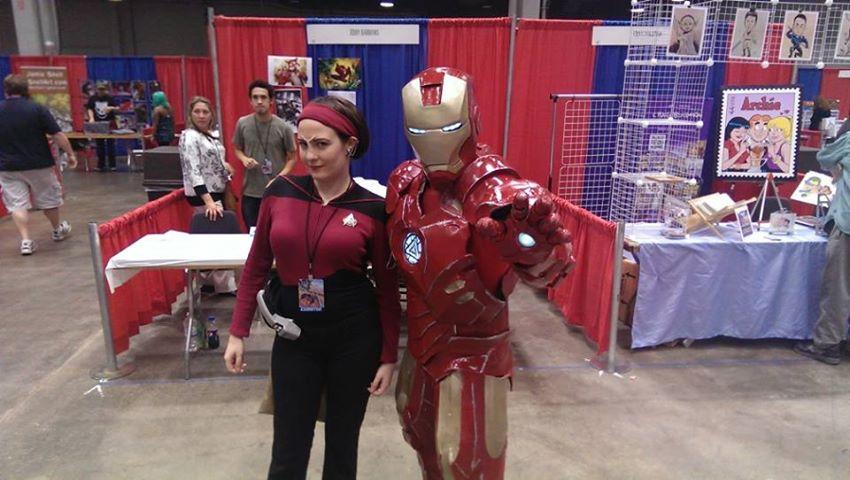 CCE13 SUN - Ensign Ro & Iron Man