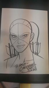 CCE13 Sketch - Artemis