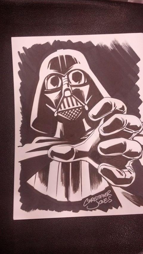 CCE13 Sketch - Vader