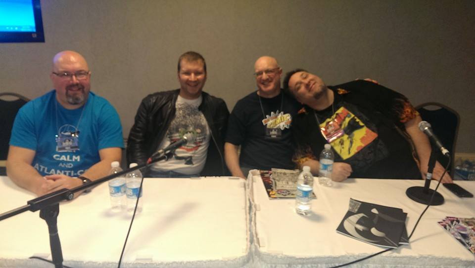 East Coast Comic Con con runners and me