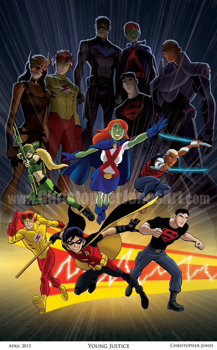 Young Justice Framed Prev - Hot Girls Wallpaper