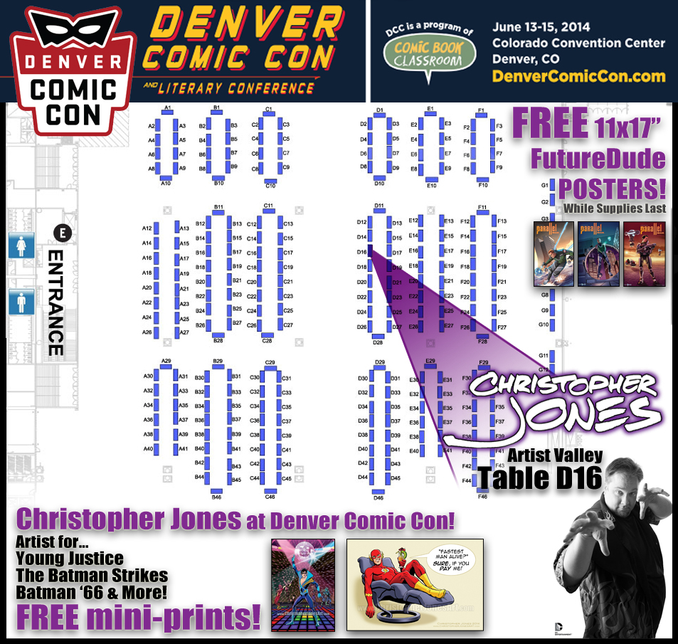 DCC 2014 map