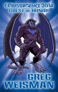 CVG 2014 GoH Badge prev - Greg Weisman