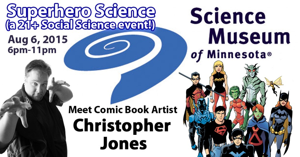 Superhero Science Logo