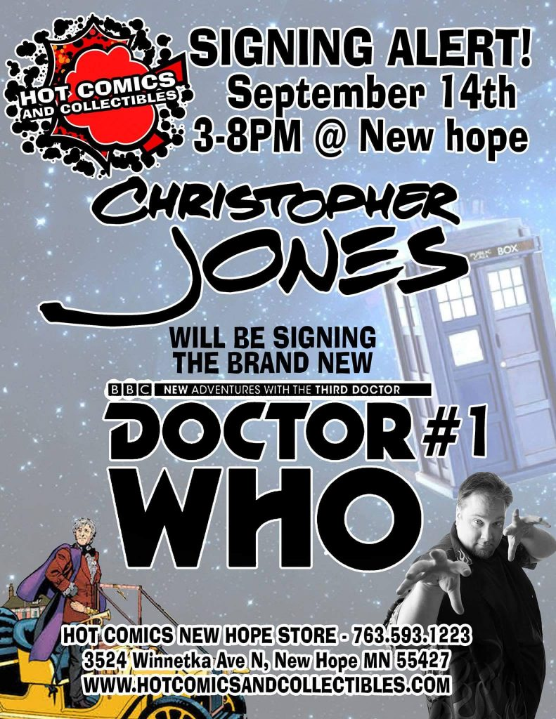 Hot Comics Doctor Who Signing