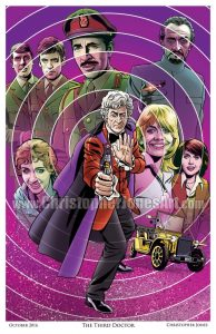 Jon Pertwee Homage Print
